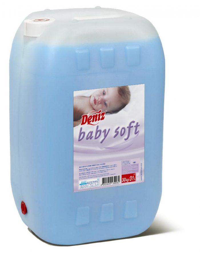 Deniz Baby Soft Camaşır Yumuşatıcısı Mor 30kg